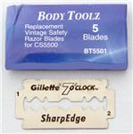 Gillette Double Edge Razor Blades